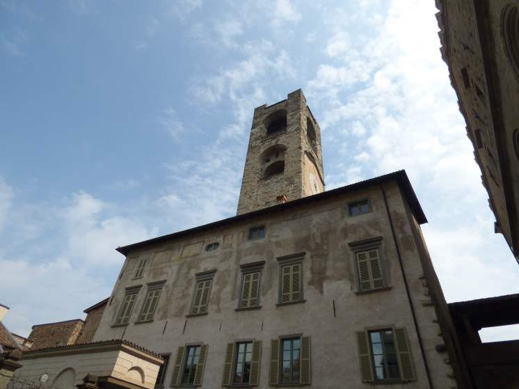 Old City Tower of Bergamo